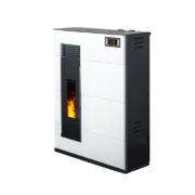 FD ducted pellet stove, flat pellet stove