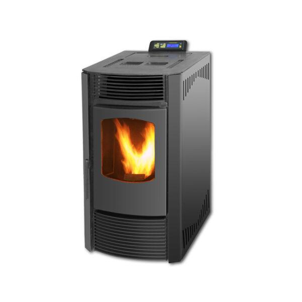 SR-A9-china-wood-pellet-stove-9KW-black