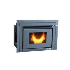 SR-PIN9 insert wood pellet stove 9KW china