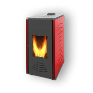 W24 hydro pellet stove with hot water 24KW