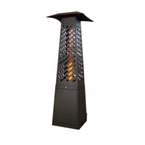 Outdoor pellet stove, pellet heater, garden patio heater