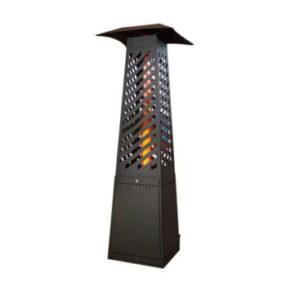 Outdoor pellet stove, pellet heater, garden patio heater