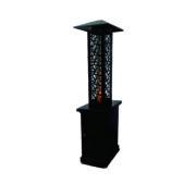 Outdoor pellet stove, elegant pellet heater, garden patio heater